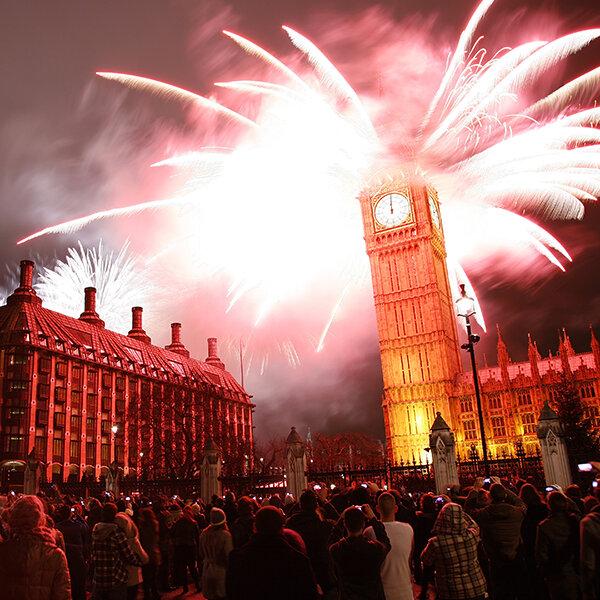 London Eye Altında Toplanıyoruz