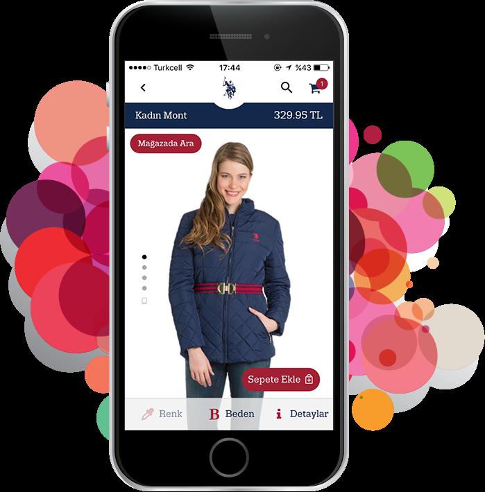 Yeni uygulamamız <br>mobil alışveriş <br>keyfinize <br>keyif katacak!
