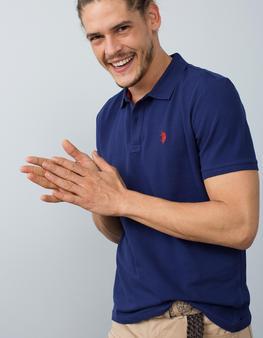 Lacivert Slim T-Shirt