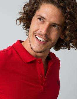 Kırmızı Slim T-Shirt