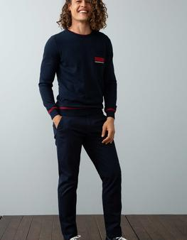 Lacivert Slim Pantolon