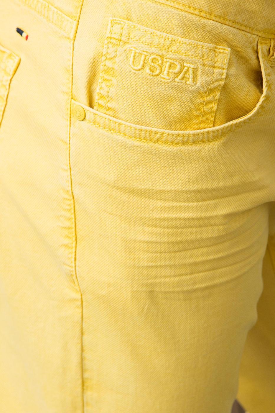 Sarı Slim Pantolon