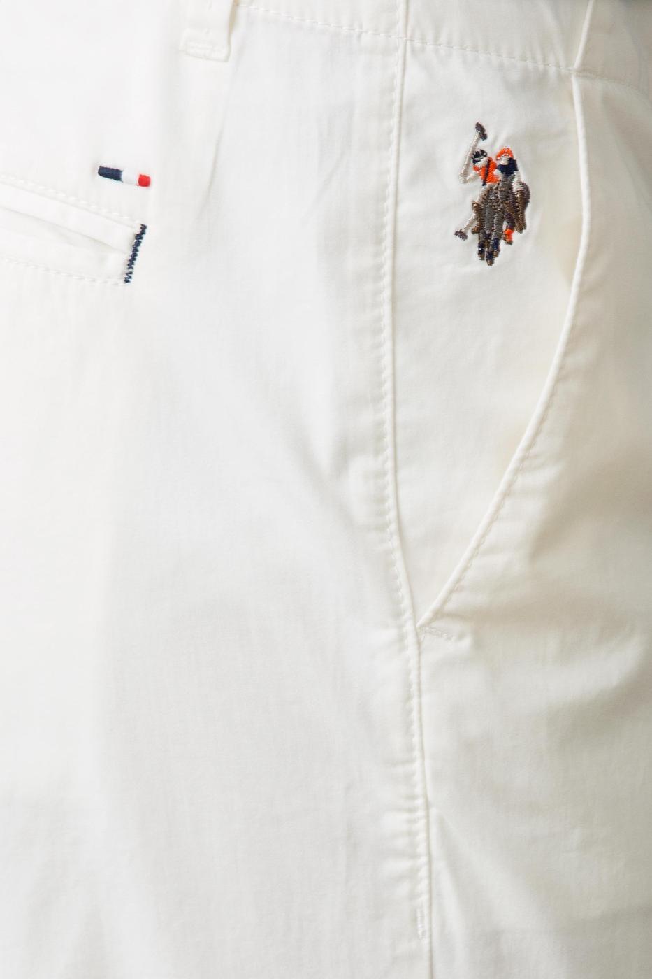 Beyaz Slim Pantolon
