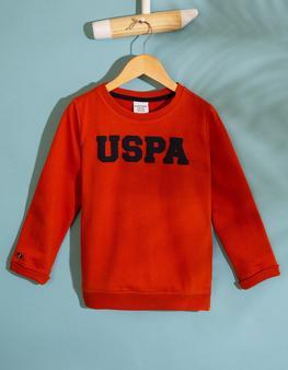 Turuncu Sweatshirt Basic