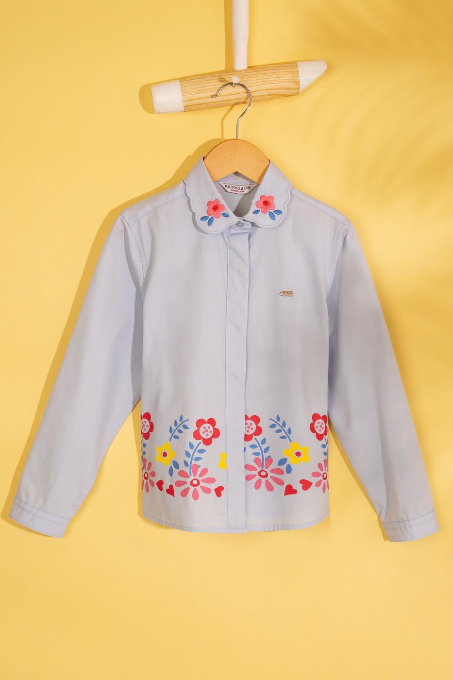 Kız Çocuk Dokuma Gömlek