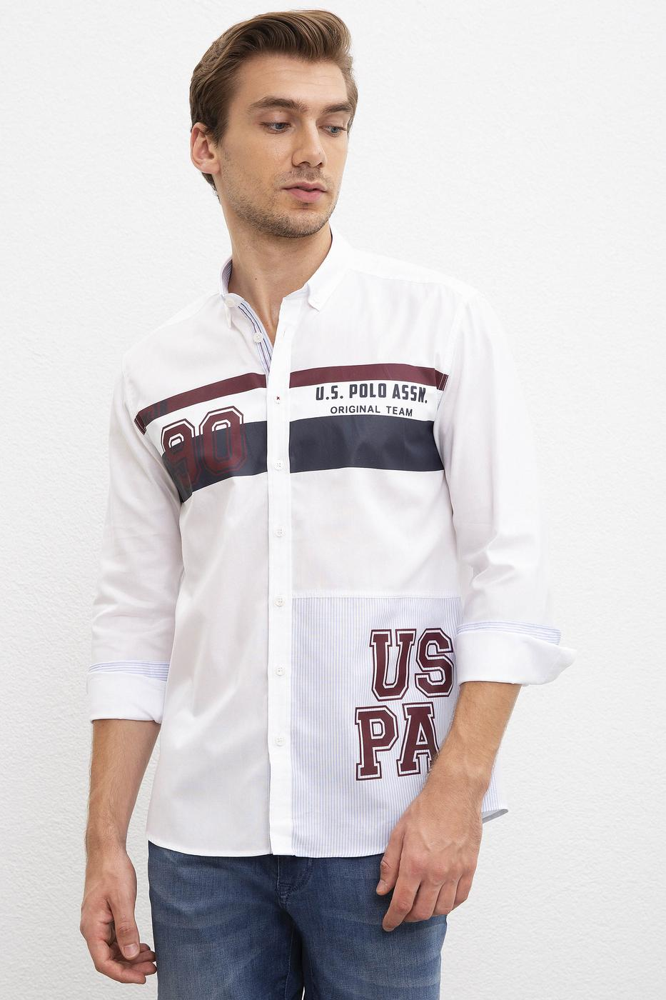 Beyaz Gömlek Uzunkol
