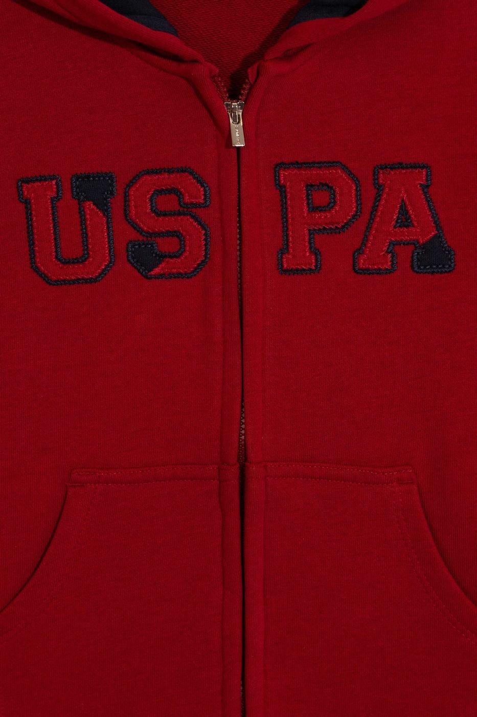 Kırmızı Sweatshirt Basic