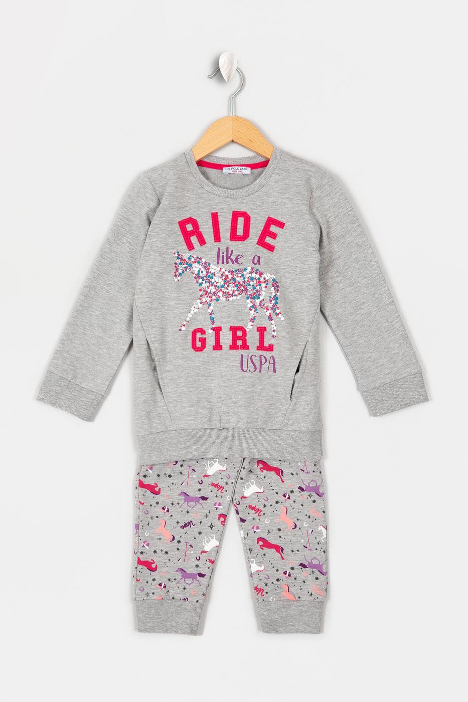 Gri Pijama Takımı