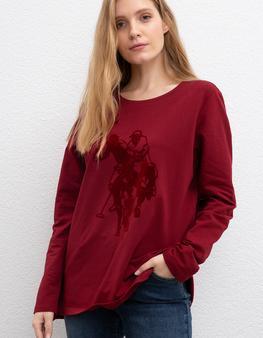 Kırmızı Sweatshirt
