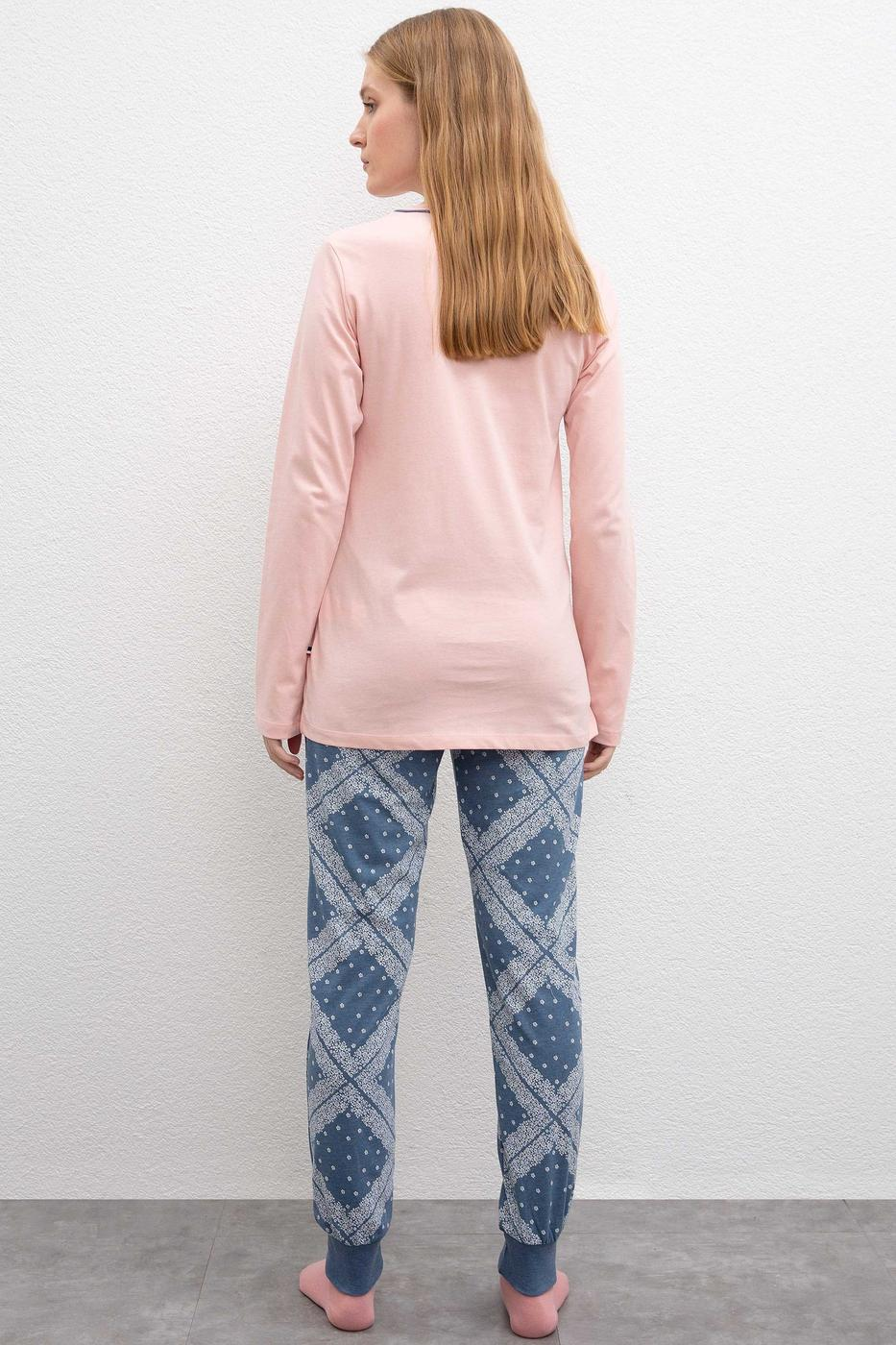 Pembe Pijama Takımı