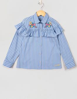 Mavi Çizgili Gömlek