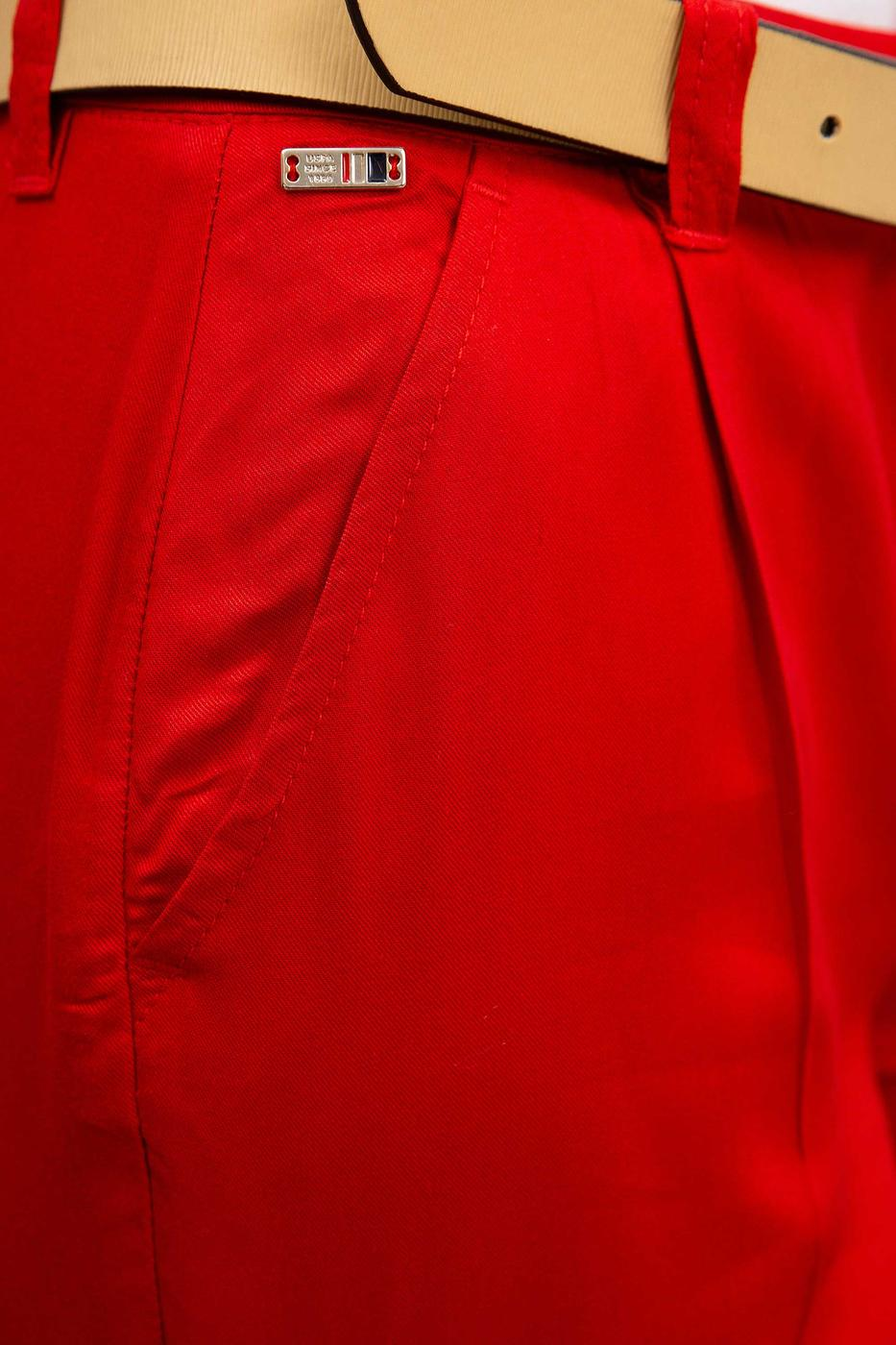 Kırmızı Pantolon