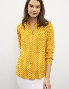 Sarı Gömlek Uzunkol