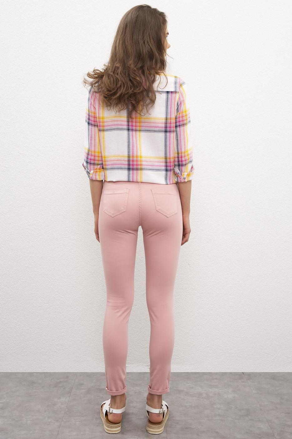 Pembe Spor Pantolon