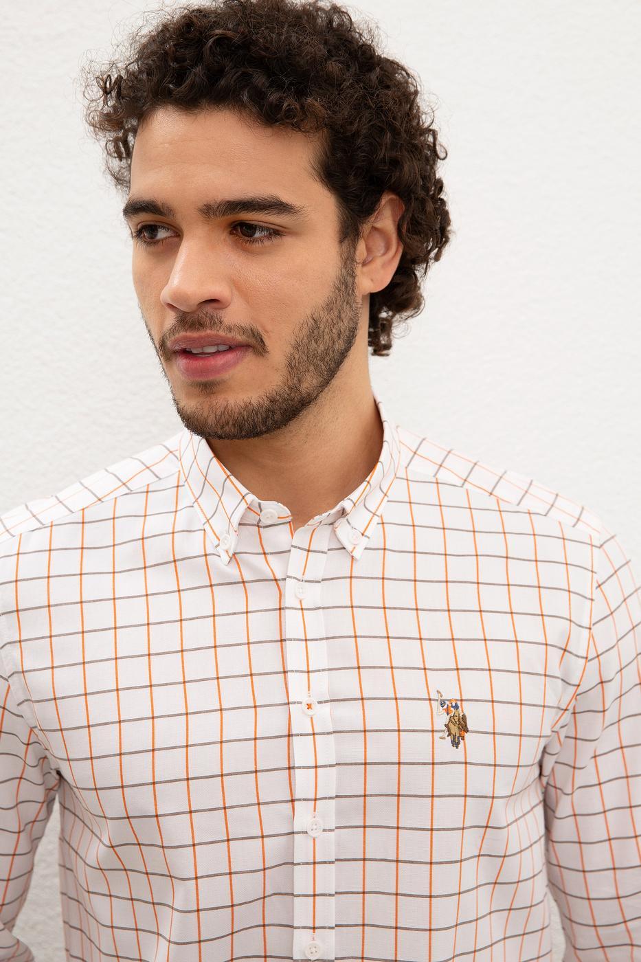 Turuncu Gömlek  Uzunkol