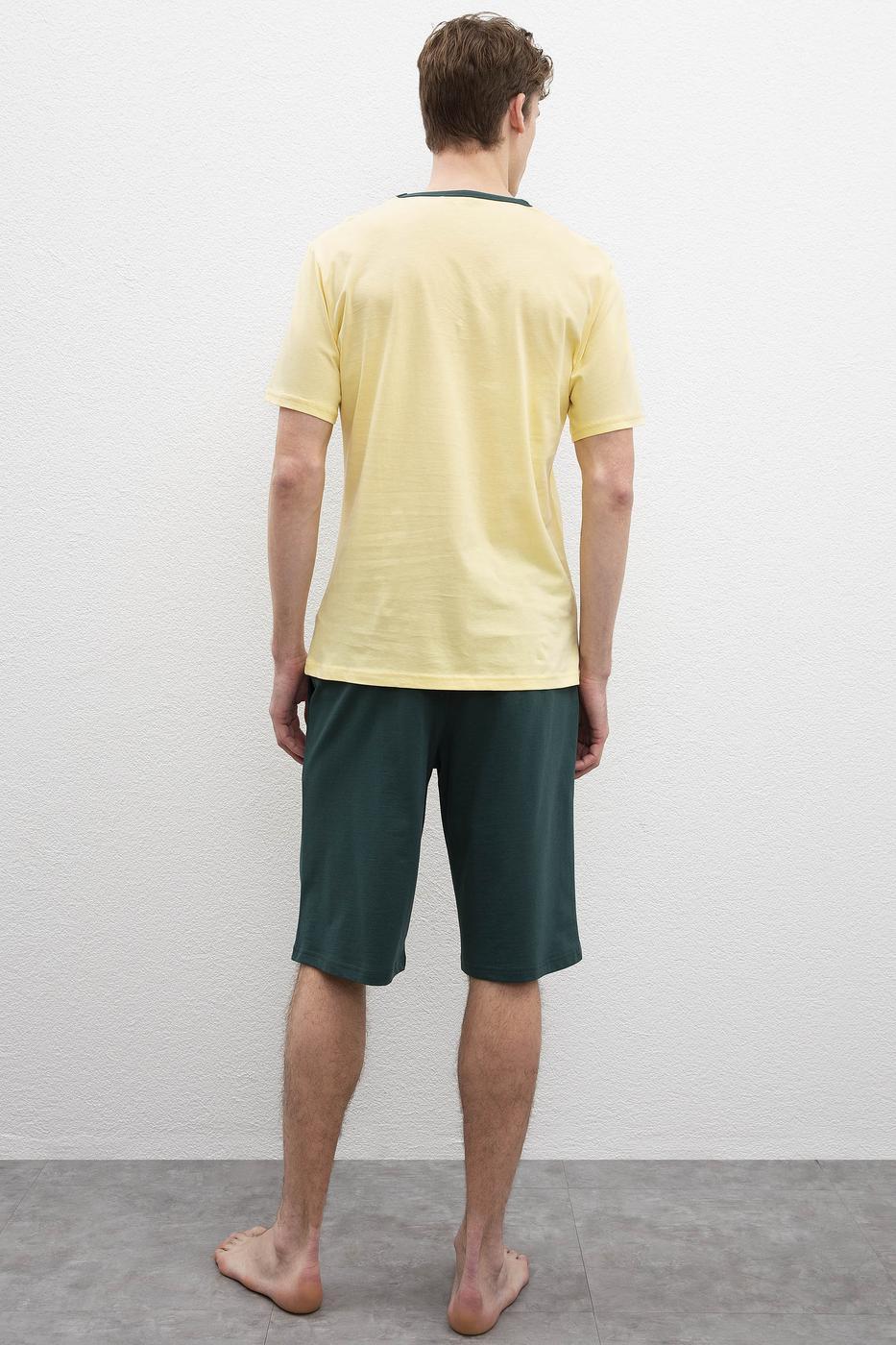 Sarı Pijama Takımı