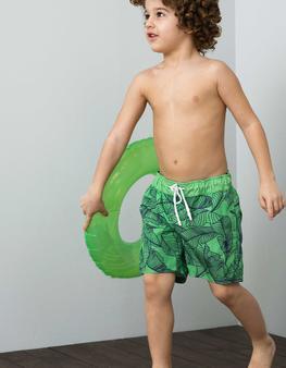 Yeşil Deniz Şortu