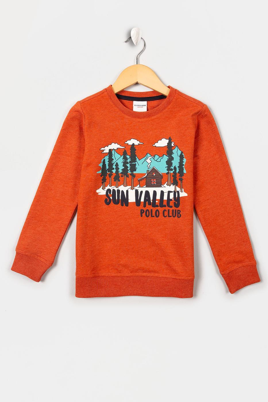 Turuncu Sweatshirt