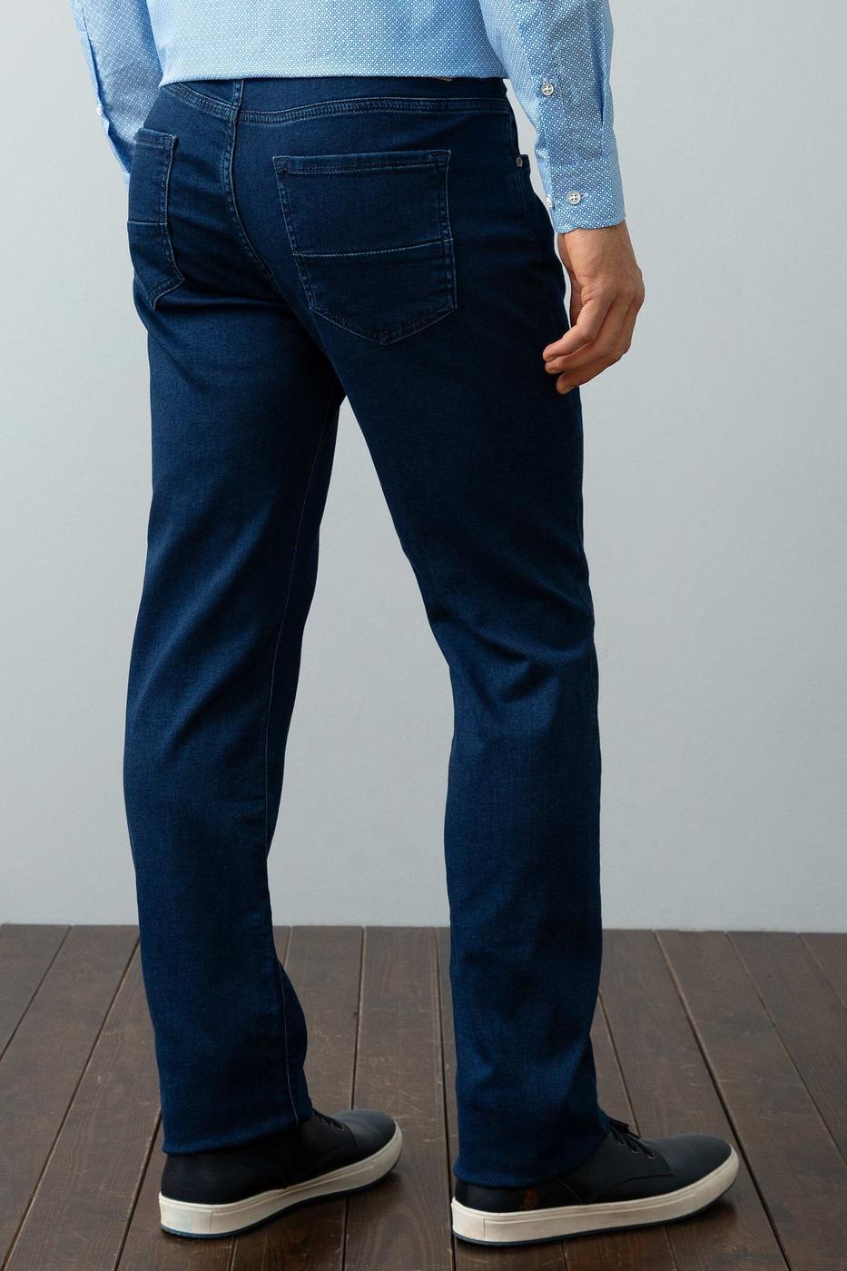 Lacivert Denim Pantolon
