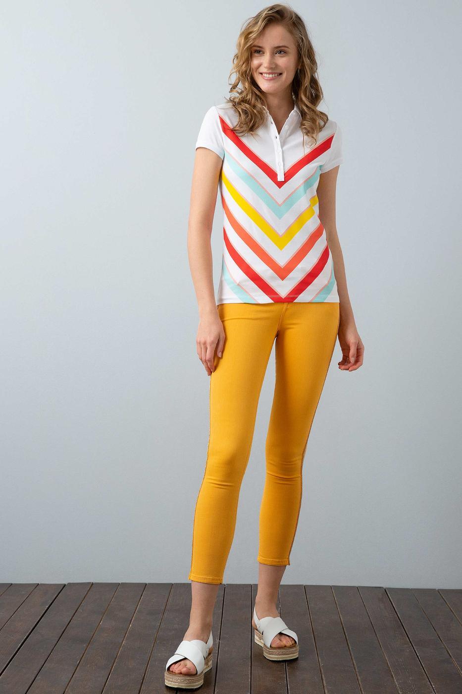 Sarı Spor Pantolon