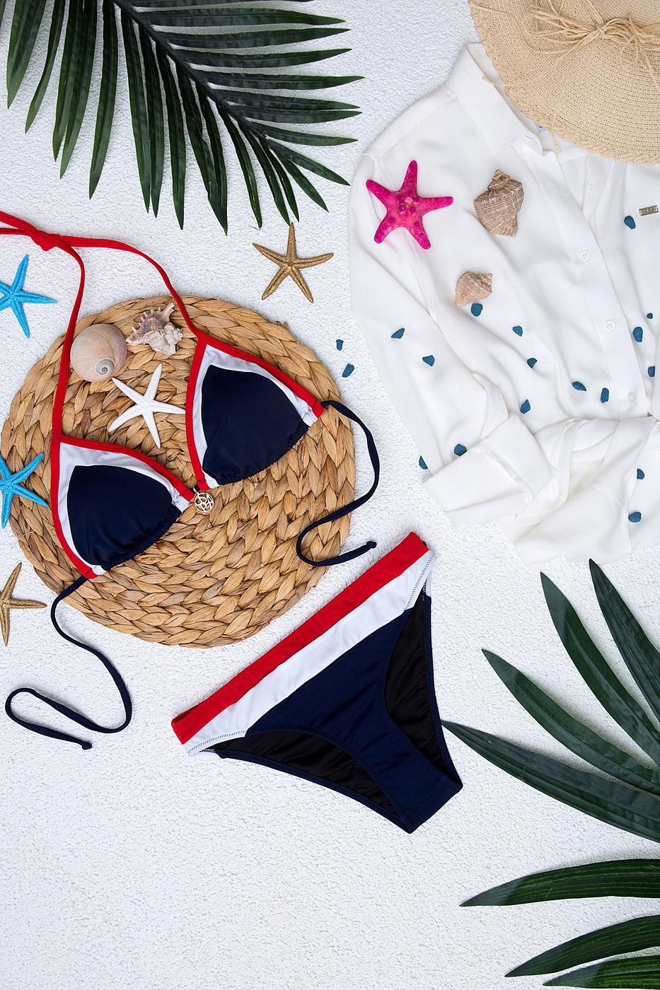 Lacivert Bikini