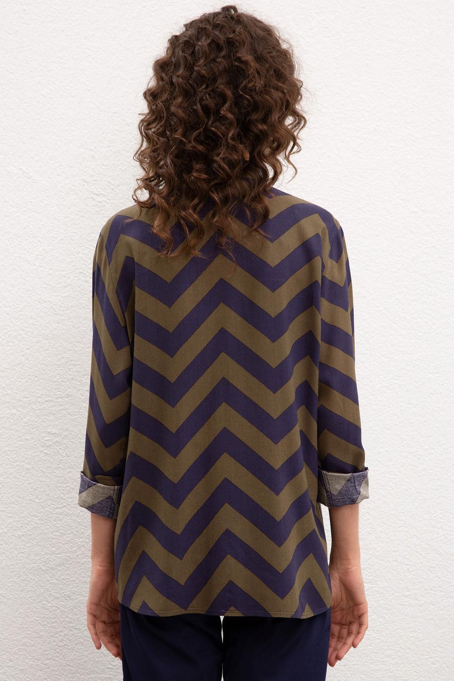Multicolor Gömlek Uzunkol