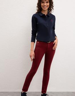 Kırmızı Spor Pantolon
