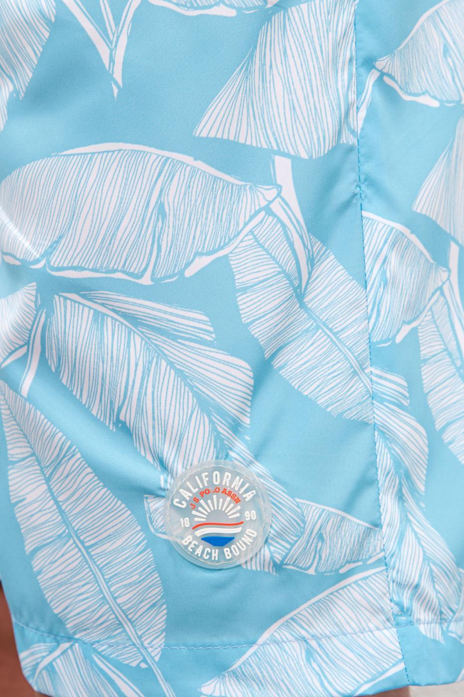 Mavi Deniz Şortu