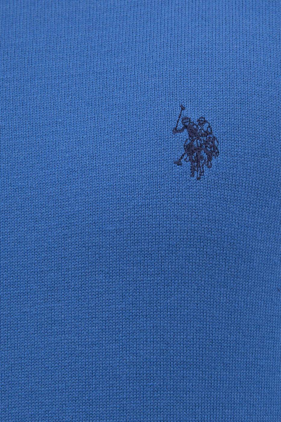 Mavi Triko Kazak Basic