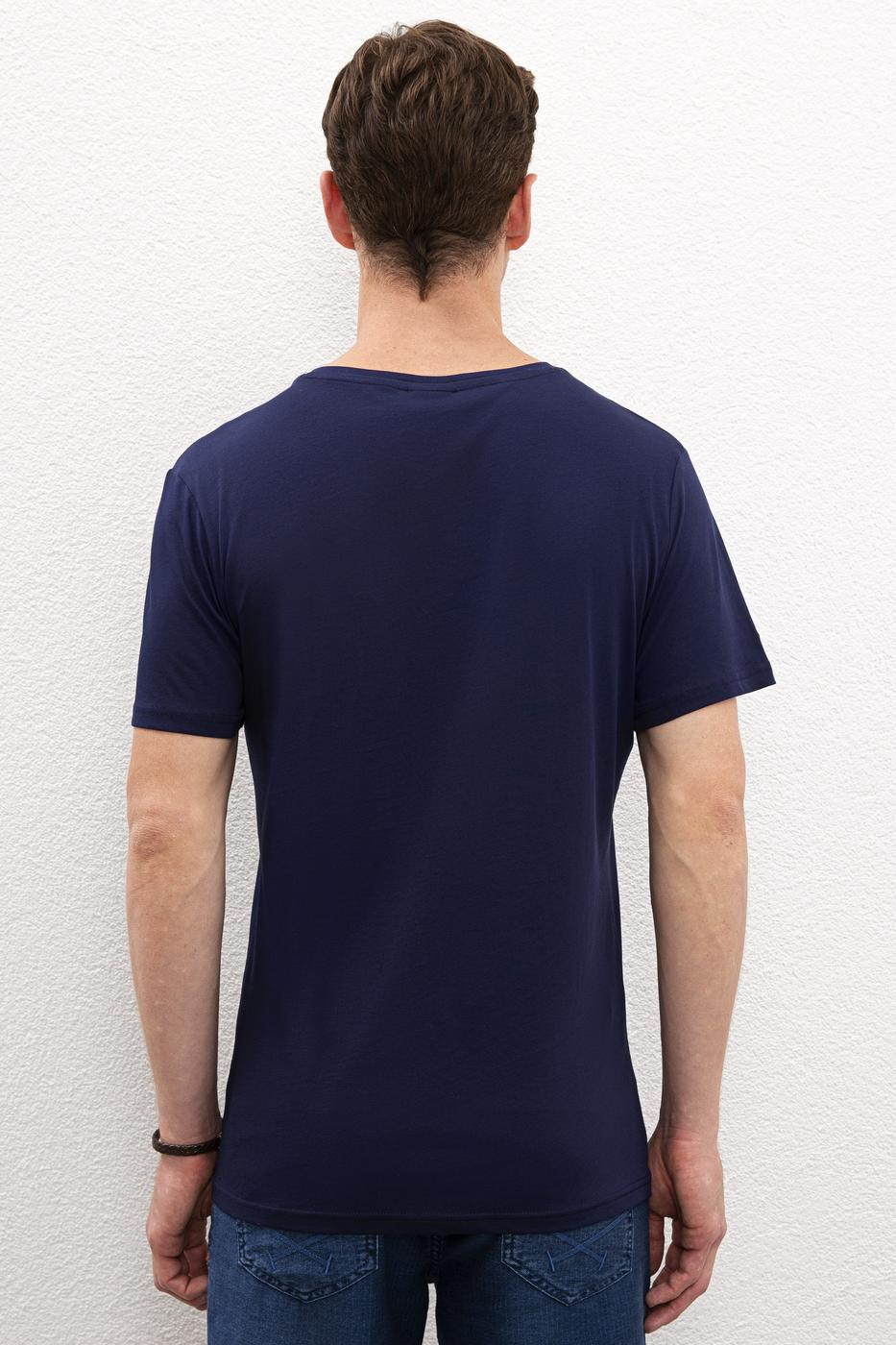 Lacivert T-Shirt Basic