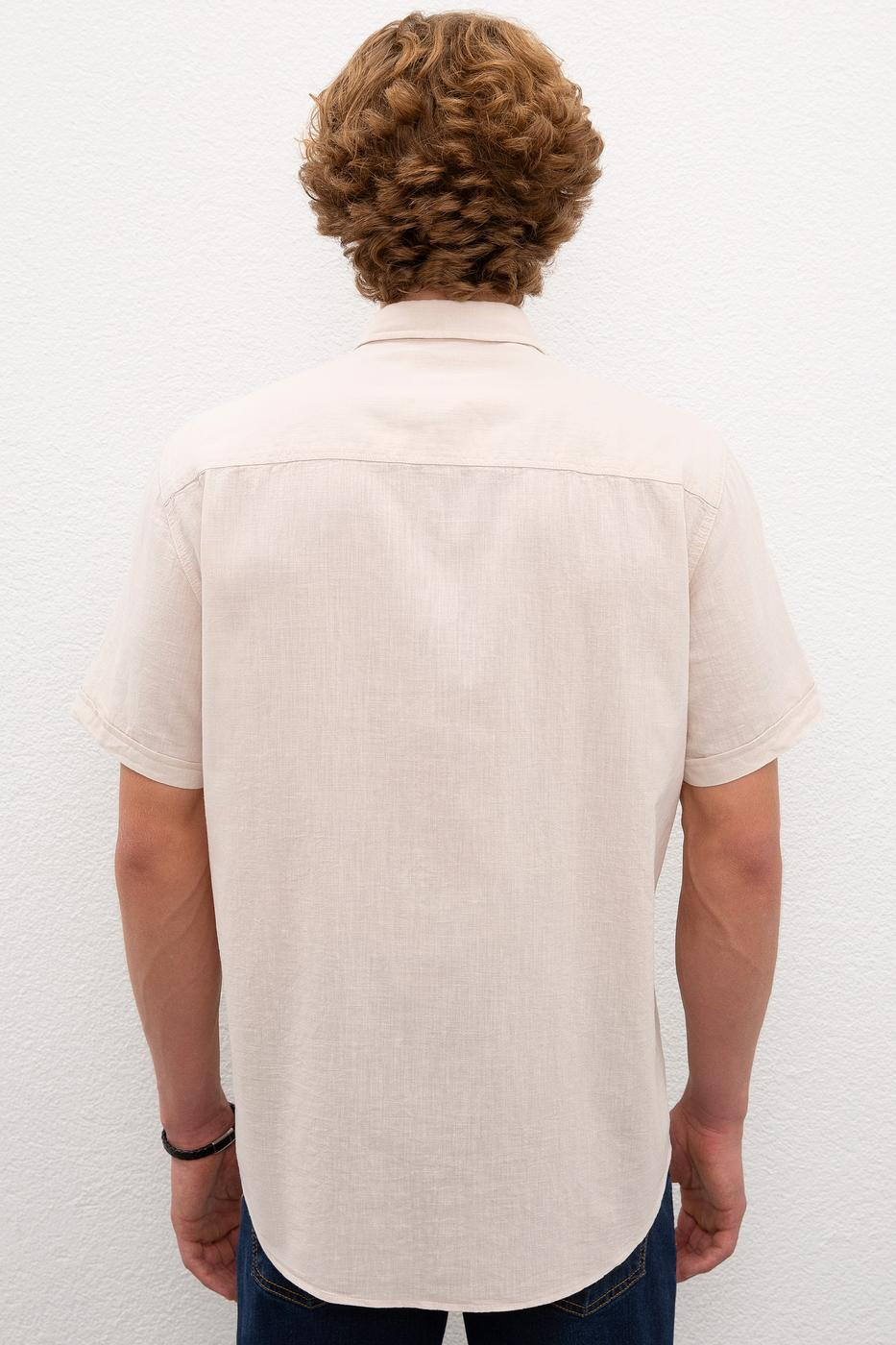 Gri Gömlek Kısakol