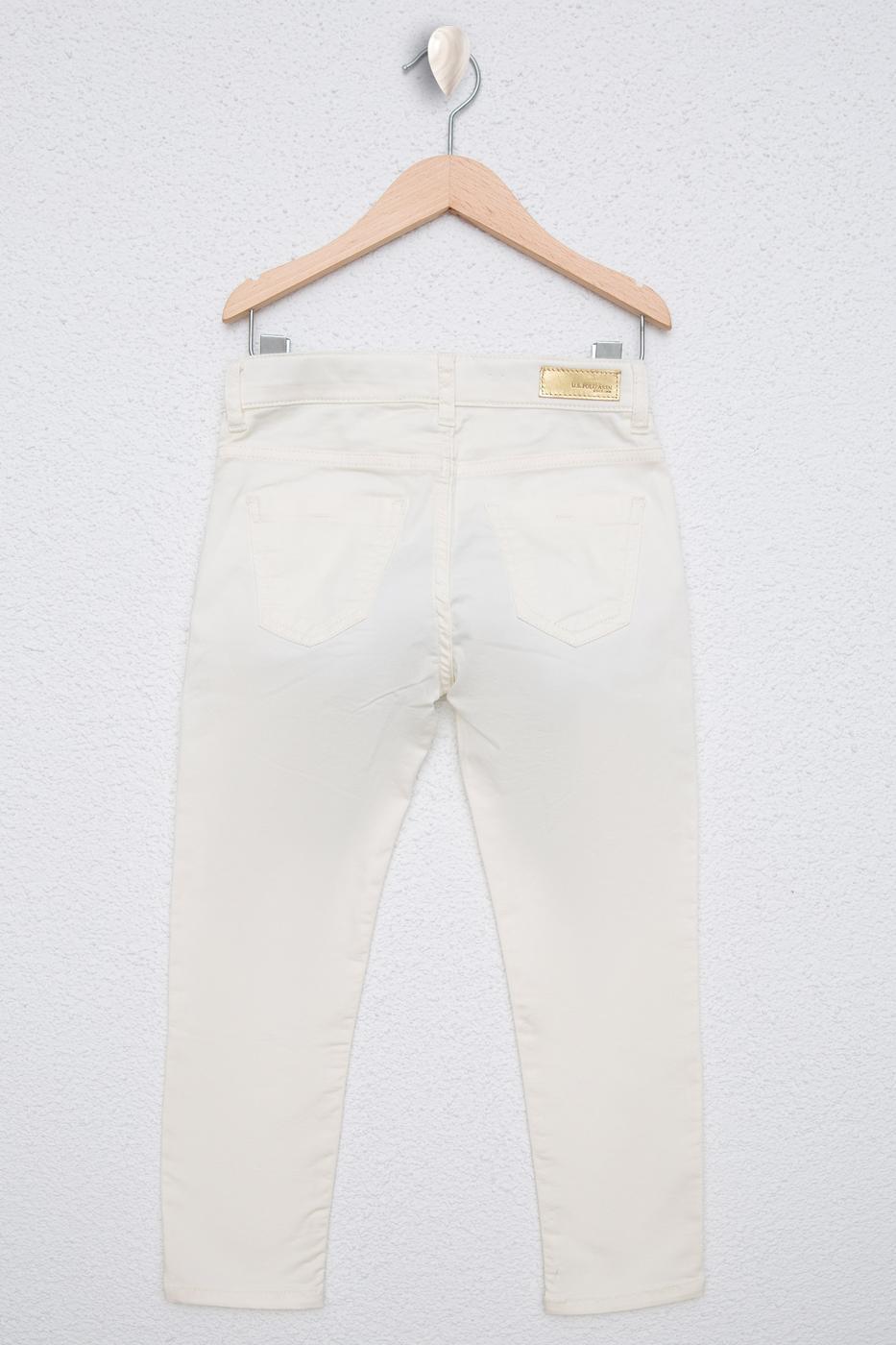 Beyaz Spor Pantolon