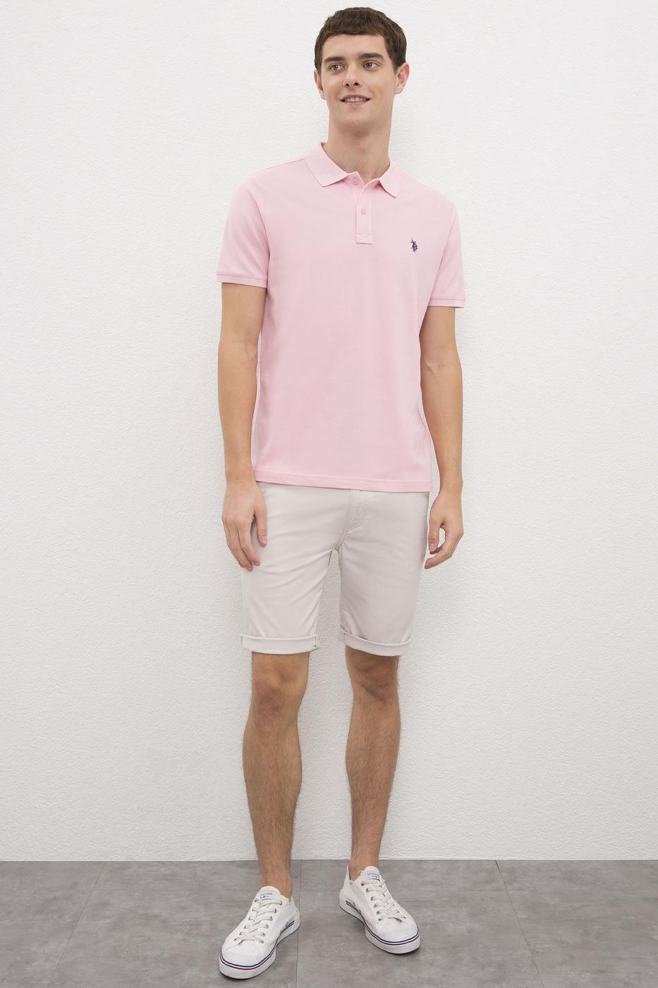 Pembe Slim T-Shirt
