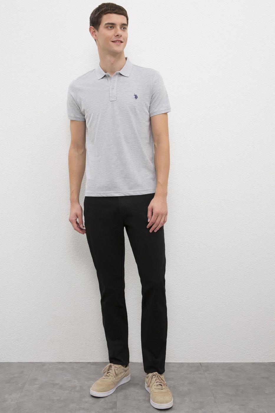 Gri Slim T-Shirt
