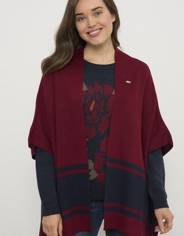 Kırmızı Triko Panço