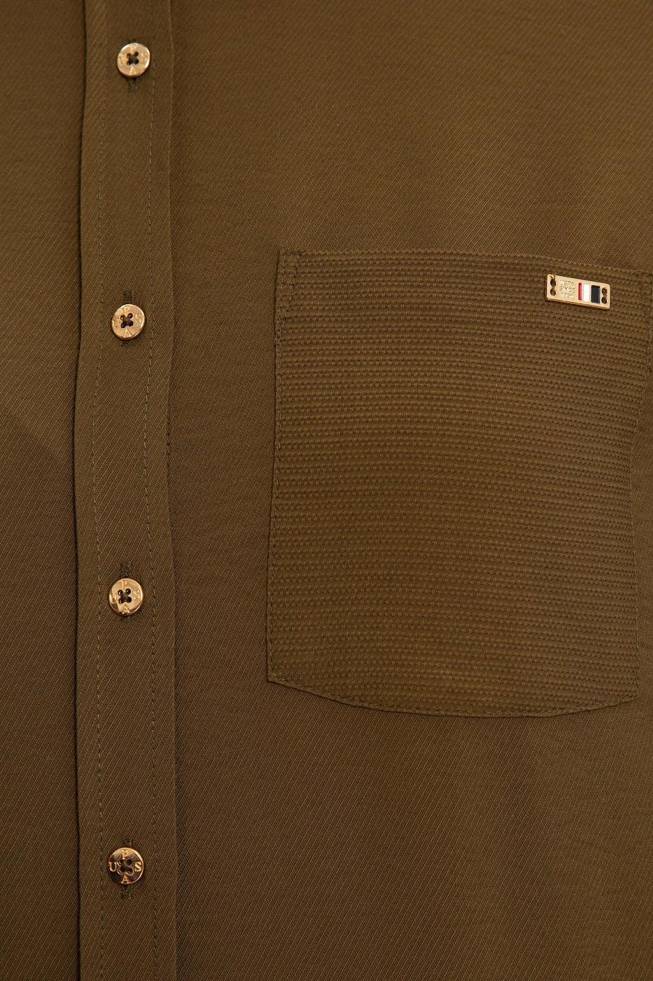 Yeşil Gömlek Uzunkol