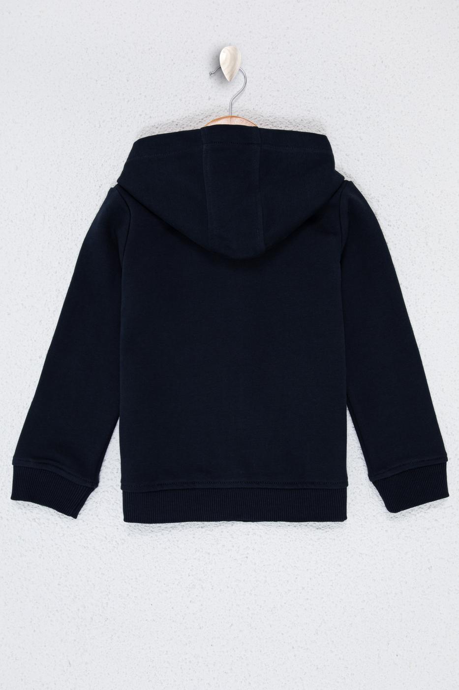 Lacivert Sweatshirt Basic