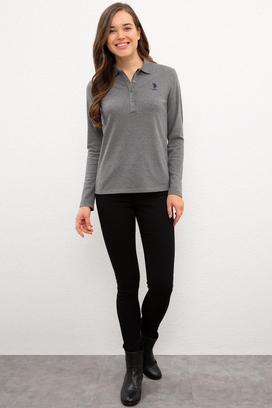 Gri Sweatshirt Basic