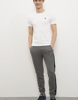 Gri Örme Pantolon