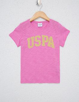 Lila Bisiklet Yaka T-Shirt