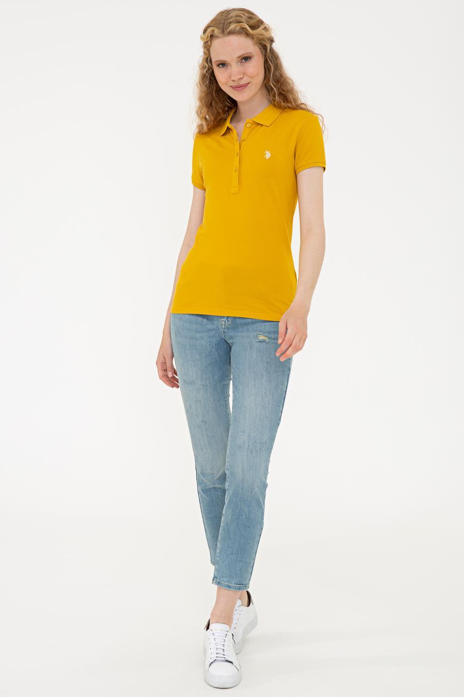 Sarı T-Shirt Basic